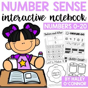 This notebook was created for my first grade students at the beginning of the year...it only includes using numbers 1-20. I think it's so important they develop fluency with these numbers so that they have an easier time when we start working on place value and larger numbers. This packet would also be perfect for high-flyers in kindergarten who have a strong number sense.