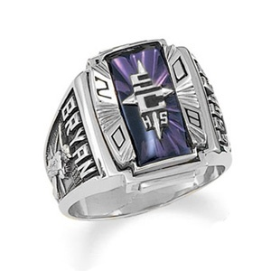 Men S Siladium 174 Crestline Legacy High School Class Ring By