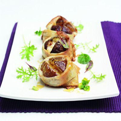 Filo baked figs with Grana Padano