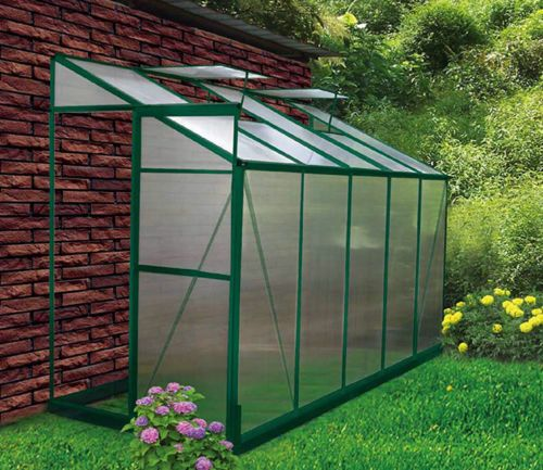 4X10 Lean To Diy Backyard Hobby Greenhouse Kits For Sale 400 x 300