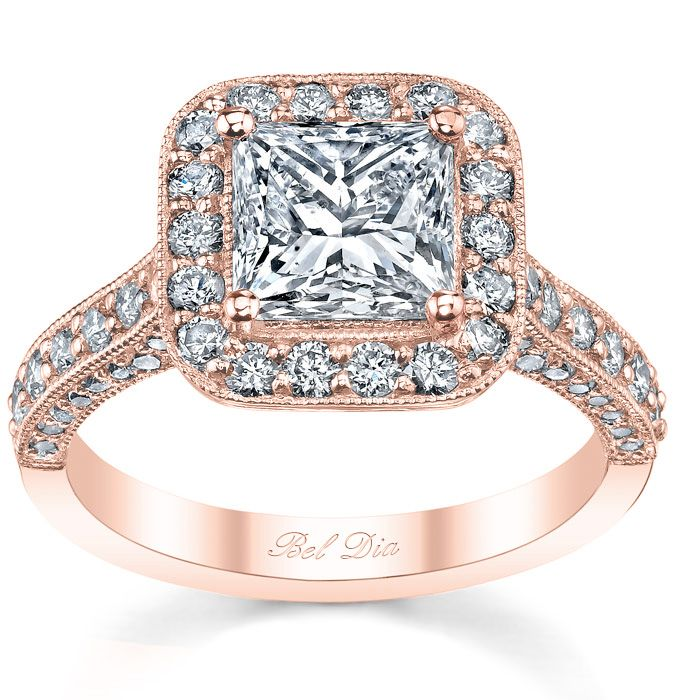 31 best Rose Gold Rings images on Pinterest