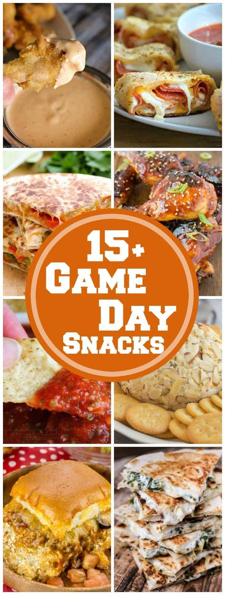 15+ Game Day Snacks | The BEST Game Day Snacks for all your entertaining needs! #football #tailgate #entertaining
