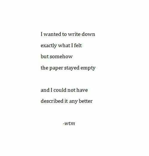 Help me write a depressing poem?