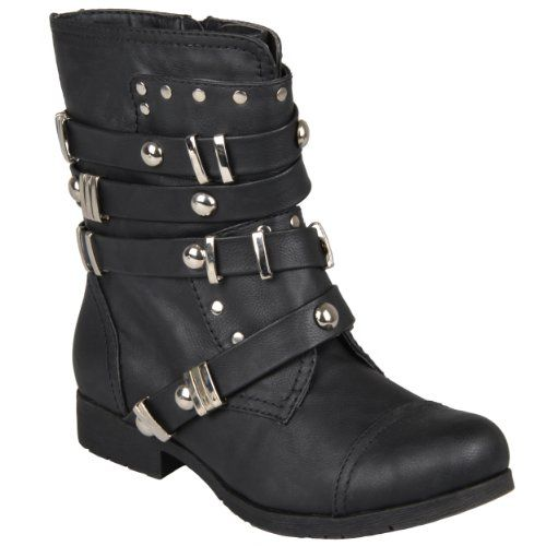 Black Brooklyn Boot by Hailey Jeans Co.