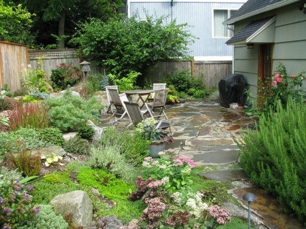 back patio transformation idea wish list