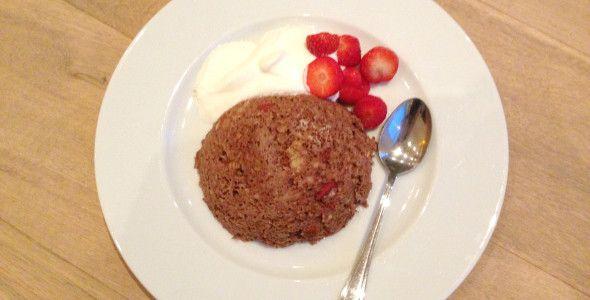 Ontbijttip – Choco Mug Cake met havermout!