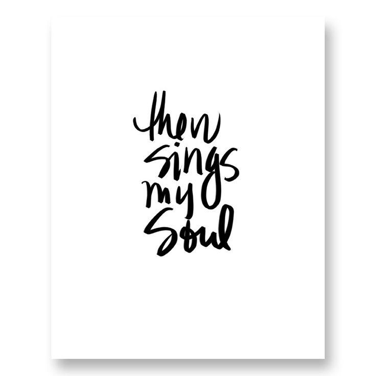 """Image of """"Then sings my soul"""" Digital Print"""