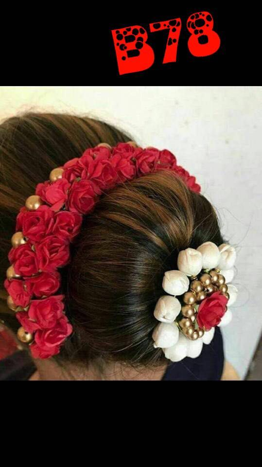 d93eafddf Hair Accessories 163560  Indian Women Bridal Artificial Hair Accessories  Strand Gajra Hair Flower Diwali -  BUY IT NOW ONLY   18.99 on  eBay   accessories ...