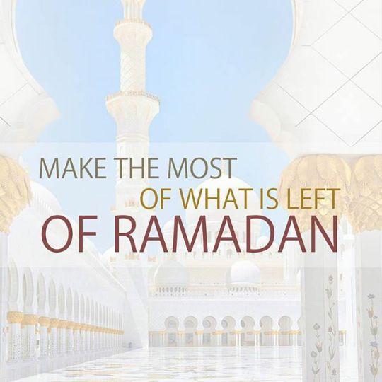 Make the most of it!! Read Quran. Pray more. Help more. #Muslimknowledge #Allah #muslimknowledge #islam #education #faith #muslim #muslims #religion #knowledge #follow #success #Quran #reminder #duamuslimknowledge #ramadan #karim #ramadankarim #blessings #choices #like