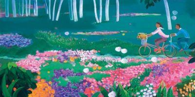 garden-picnic/Lee John-lip - ARTMUSEE::KOREAN ARTISTS' ART SHOPPINGMALL