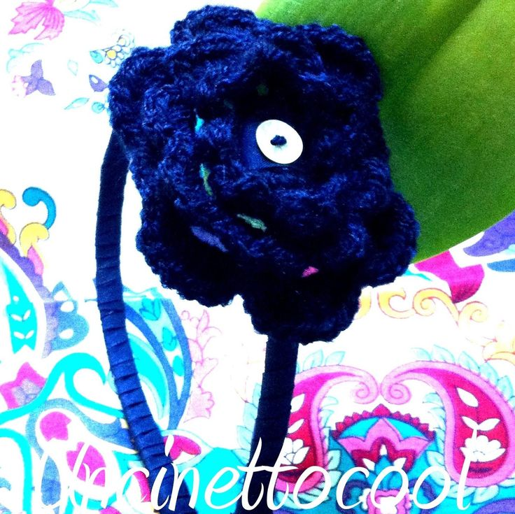 #Cerchietto #crochet #handmade #uncinetto per #bambine #bellissime