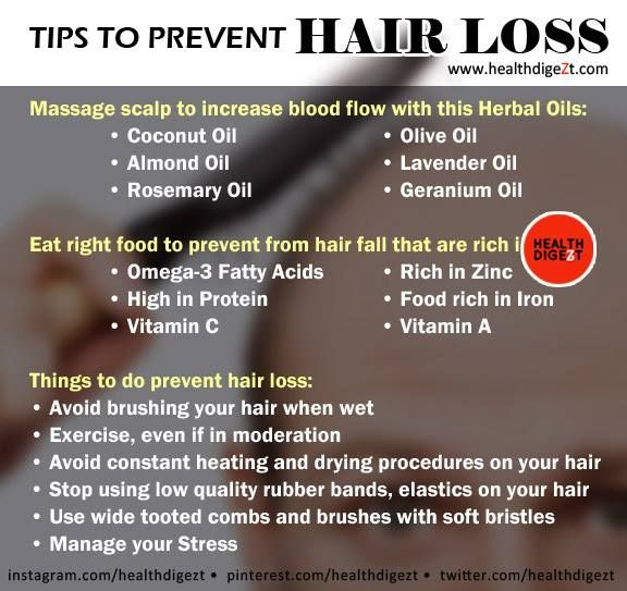 Tips To Prevent Hair Loss  You can get your Extra Virgin Organic Coconut Oil here: http://amzn.to/1V2DMZ4