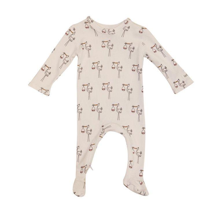 ZippyGrow - Pink Stork - Clothing - girls - Baby Belle