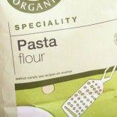 Type of flours - Italian Pasta Flour made of organic  wheat flour and durum flour