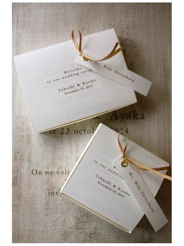 ジィール オンラインショップ|ペーパーアイテム/席札&メニュー【Paper Bag & Box / 白】