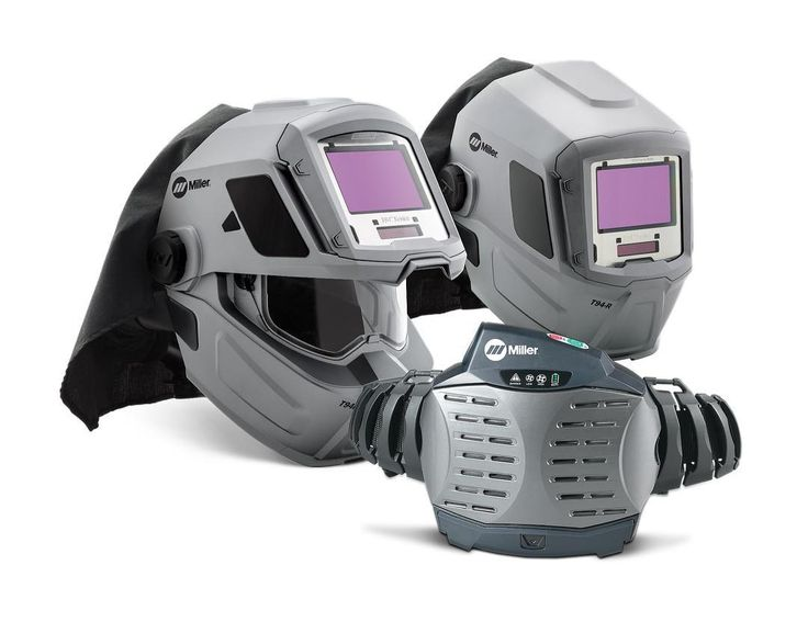 Reduce weld fume exposure and increase safety using the Powered Air Purifying Respirator (PAPR) paired with the NEW T94-R Series welding helmets. Learn more at MillerWelds.com.    #millerwelders #welding #weldon