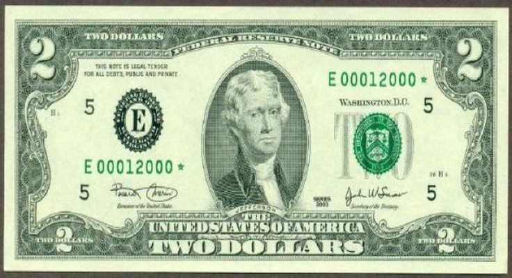 Public Ignorance of America Perfectly Explained Using a 2 Dollar Bill