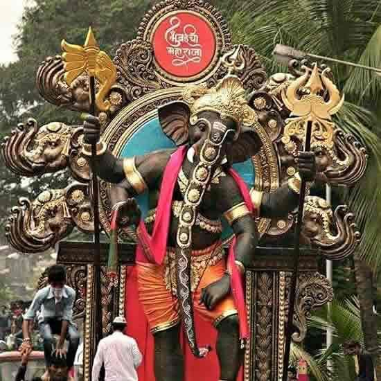 Khetwadi Galli 11 Ganpati Idol - Ganesh Chaturthi 2015