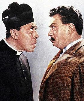 """Don Camillo e Peppone  da """"Senza destra e sinistra, senza politica"""" > Discorsivo.it"""