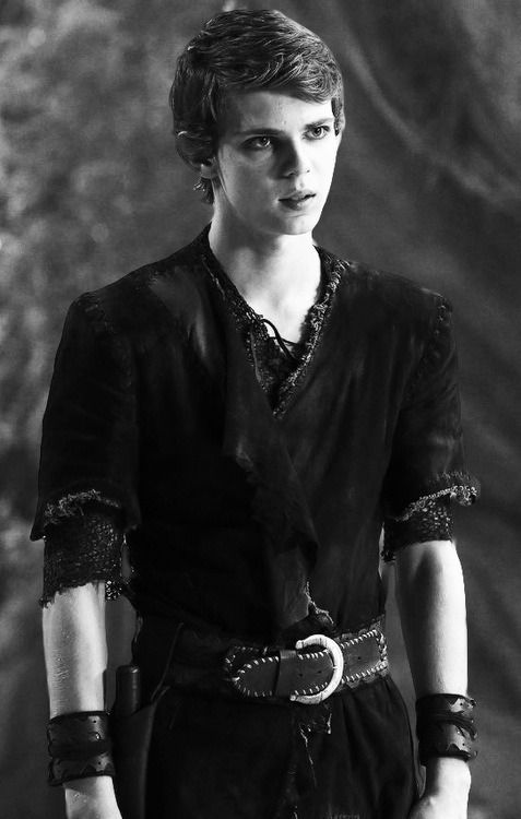Robbie Kay as Peter Pan in Once Upon A Time.