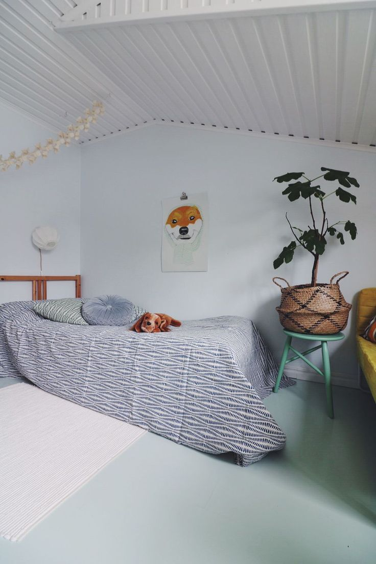 Lampverket unika lampor & lampskärmar - Överkast Afroart Ormbunke Blå