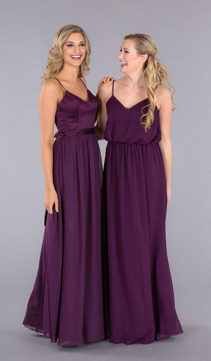 580 best wedding bridesmaids images on pinterest wedding abigail mismatched bridesmaid dressesblue ombrellifo Images