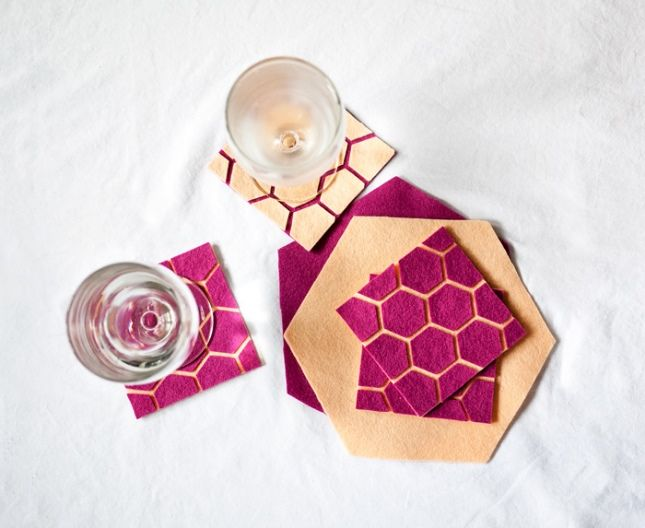 Shape Up Your Next Party With 25 Genius Geometric Ideas via Brit   Co
