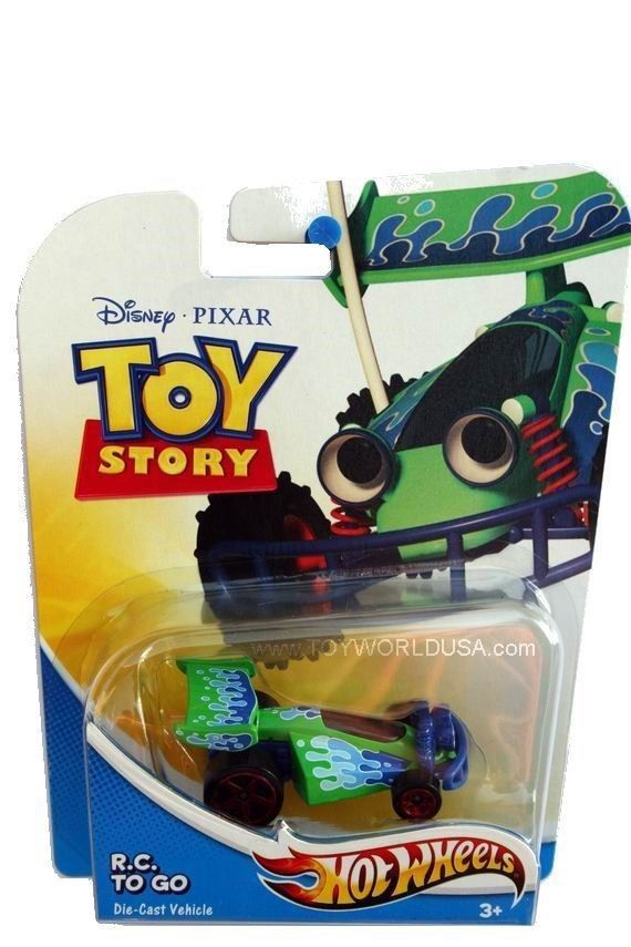 Hot Wheels Disney PIXAR Toy Story R.C. To Go new package
