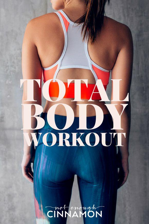 Total Body Workout 1 [Bodyweight / Cardio / Strength