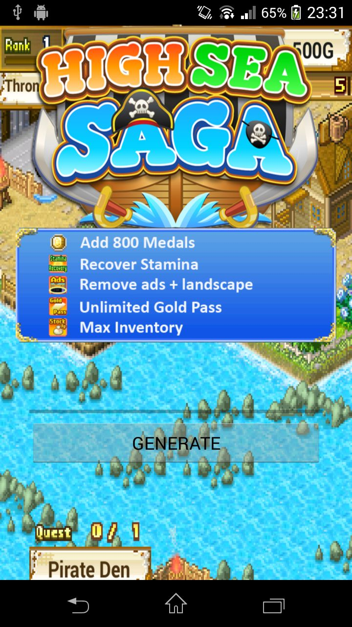 High Sea Saga Hack (APK) | Games Hooks