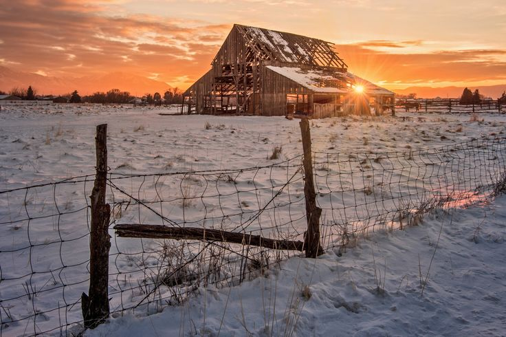 Mapleton Barn by Wesley Aston on 500px