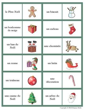 Noël vocabulaire