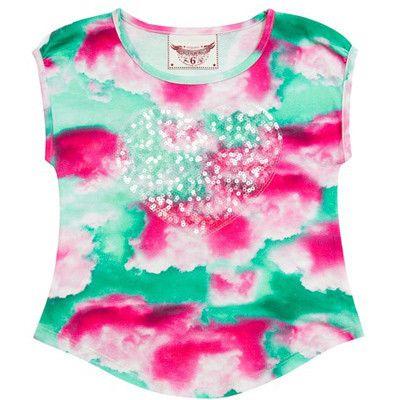 Paper Wings girls Pink Cloud Tank