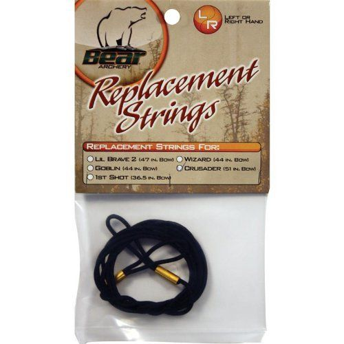 Replacement String for use with your Bear Archery Wizard Bow. At Bear Archery we are dedicated to passing on the tradition....