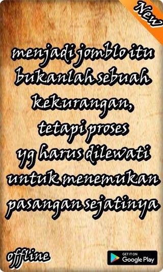 Kata Kata Bijak Jomblo Terhormat Apk 2 9 Download Free Apk From 50