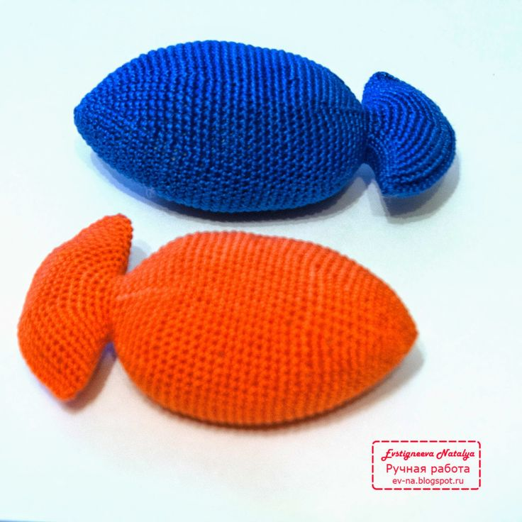 "Мастер-класс ""Вязаный знак зодиака Рыбы"" :: Handmade by Ev-Na (Evstigneeva Natalya)"