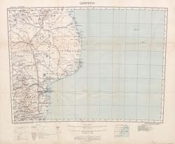 Mozambique (Limpopo Zanzibar) Scale, 1 : 2,000,000 – 1918 – London : War Office