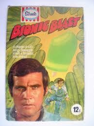 Bionic Man Ice Blocks.