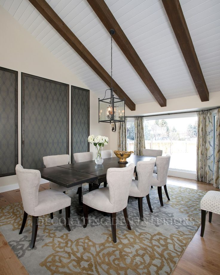Dining Room Ideas 2013 Part - 37: Re-purposing A Formal Living Room Into A Dining Room Allowed These  Home-owners To Have A New Space For Entertaining.