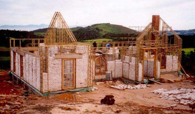 Home Earthbag Construction | Earthbag Building: Eco-Beam System