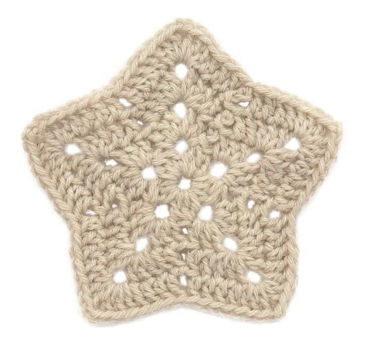 Stitchfinder : Crochet Motif: Two-Tone Double Crochet Star : Frequently-Asked Questions (FAQ) about Knitting and Crochet : Lion Brand Yarn