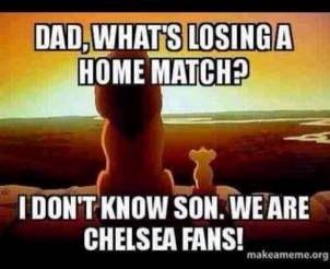 Lion king meme Chelsea FC