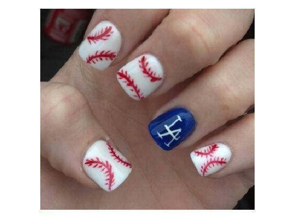 15 Sporty Baseball Nail Designs - 25+ Beautiful Baseball Nail Designs Ideas On Pinterest Softball