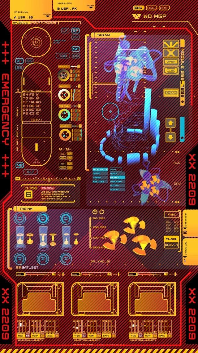 Airlopck UI by Territory. Prometheus UI