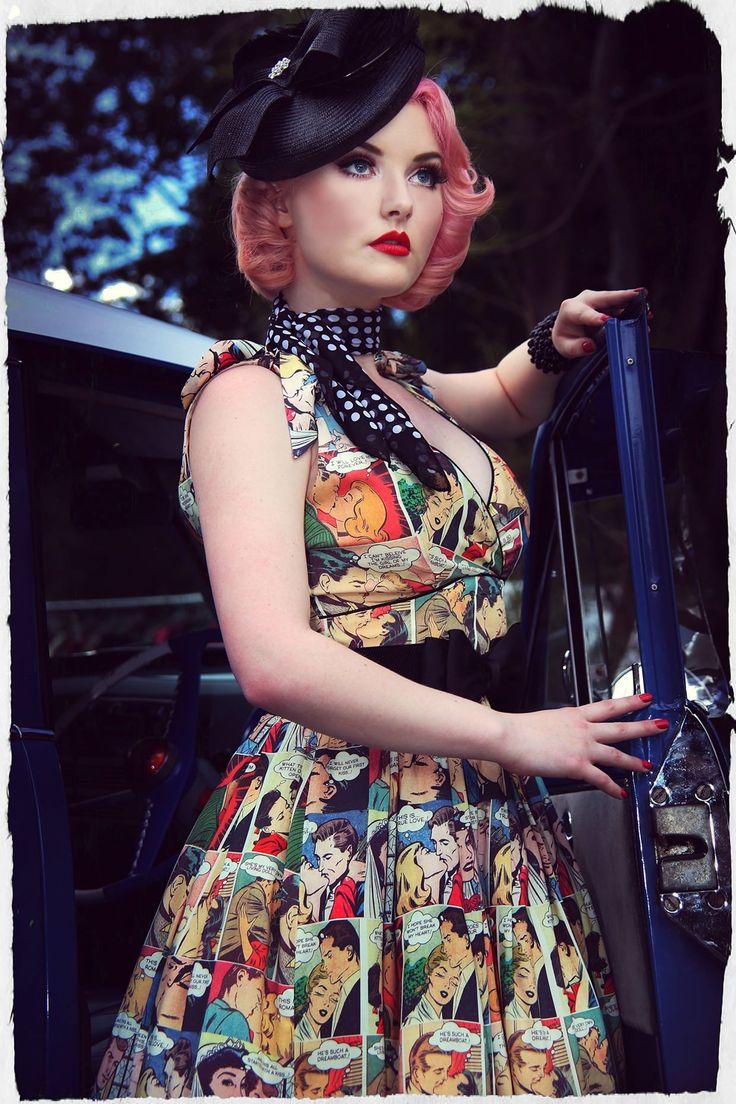 Kiss Me Darling Bow Dress