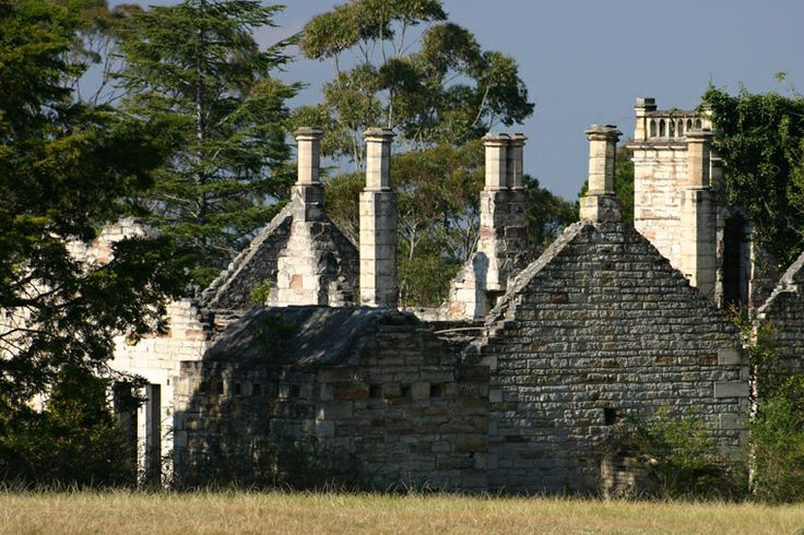 Abandoned and derelict, Eurama estate, Falconbridge, Blue Mountains, New South Wales, Australia