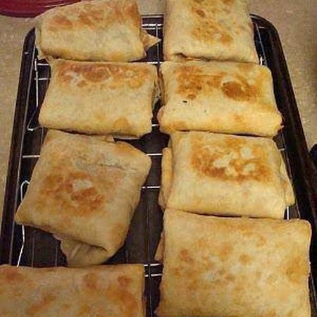 Baked Chicken Chimichangas-use low carb tortillas for a yummy low carb meal.