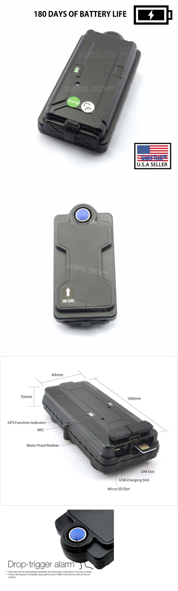 Tracking Devices: Gps Vehicle Tracking Device W Powerful Magnet Real Time Tracker On Phone Car -> BUY IT NOW ONLY: $135.99 on eBay!