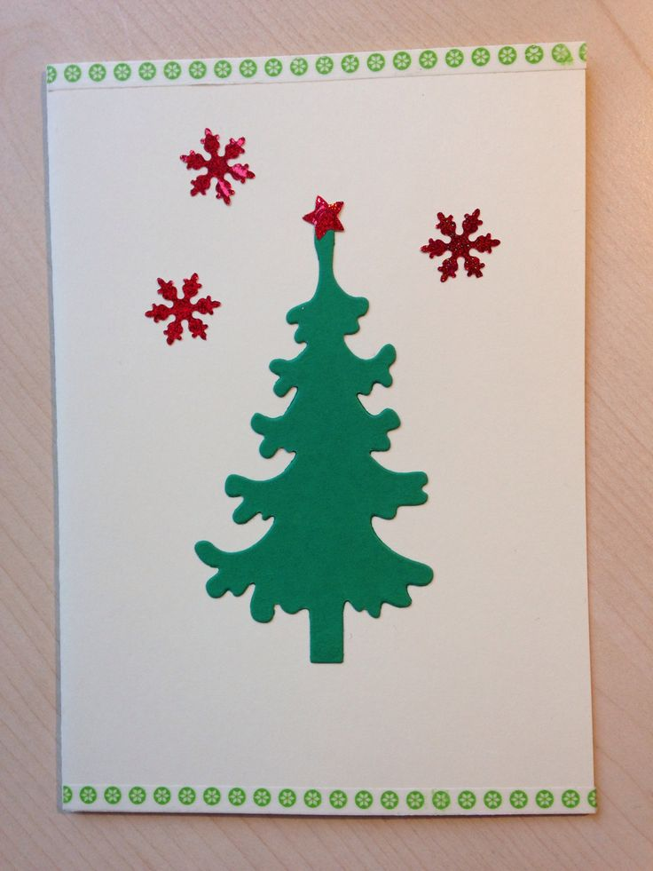 Very simple christmas card