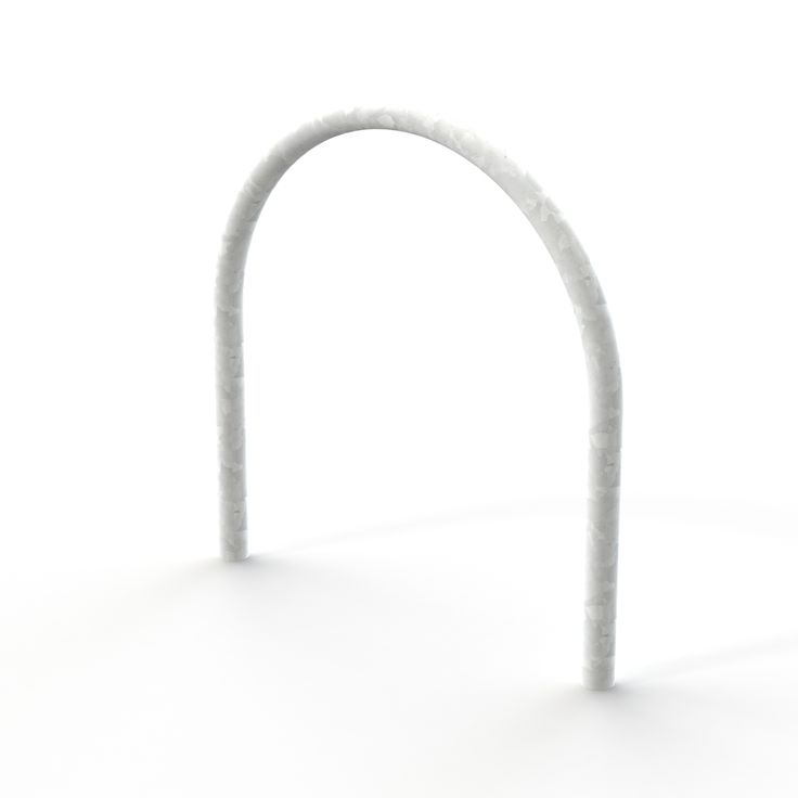 Harrogate Cycle Stand - Galvanised - Root Fixed   Street Furniture Direct